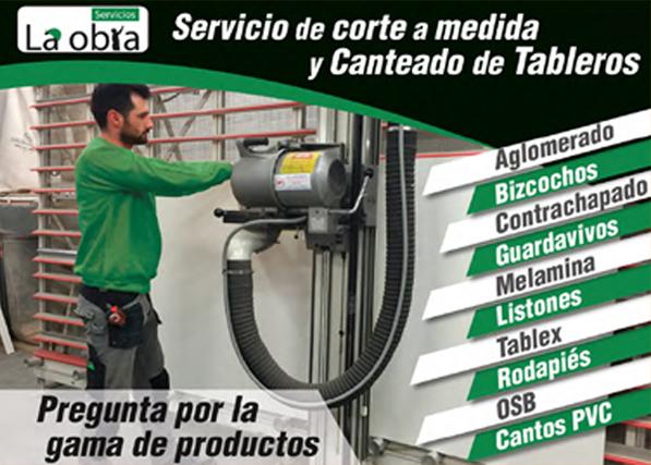 SERVICIO DE CORTE Y CANTEADO DE TABLEROS A MEDIDA