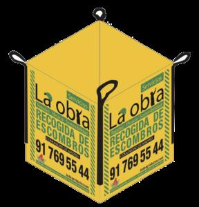 Saco de Escombros La Obra Amarillo Comunidad de Madrid