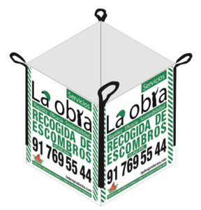 Saco de Escombros La Obra Blanco Municipal Madrid